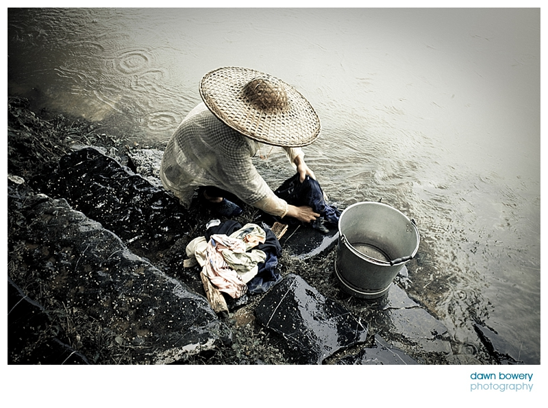 china fine art photography washer woman