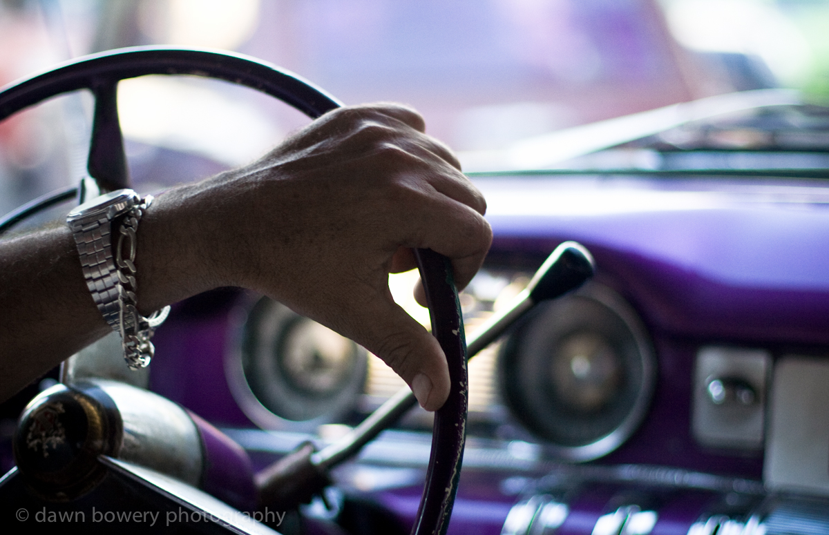 cuba car steering wheel